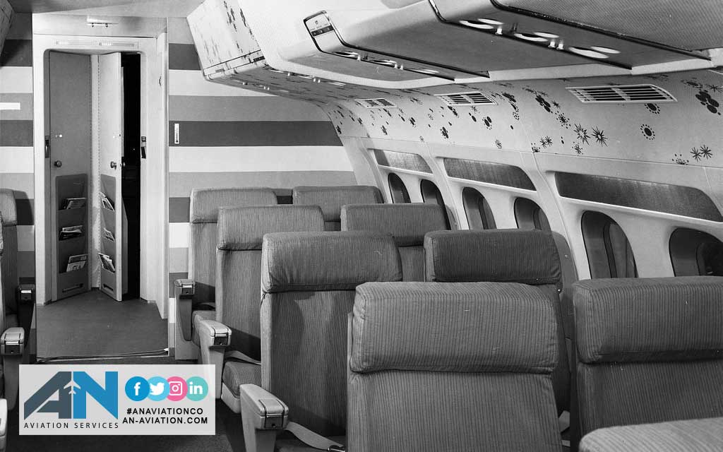 Aviation Safety: Evolution of Airplane Interiors