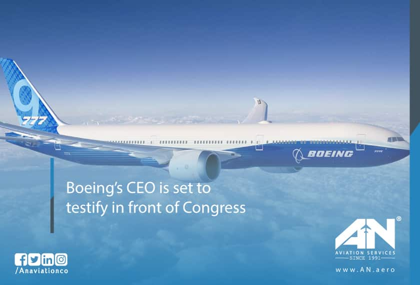 Boeing's CEO Is Set To Testify To Congress About The Boeing 737 MAX