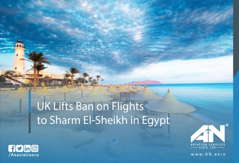 UK Lifts Ban on Flights to Sharm El-Sheikh in Egypt