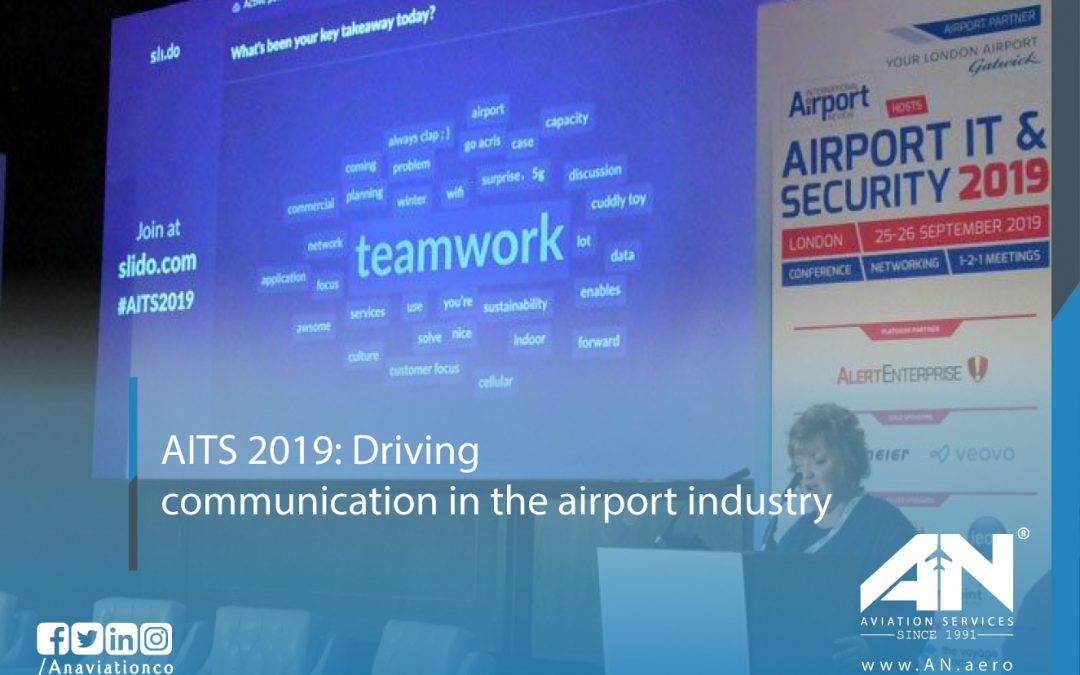 AITS 2019: Driving communication in the airport industry